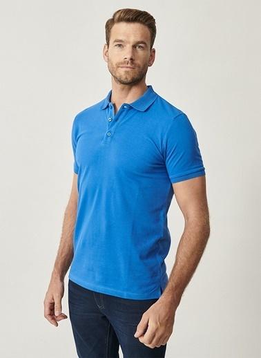 Altınyıldız Classics Altınyıldız Classic Royal Mavi T-Shirt Mavi
